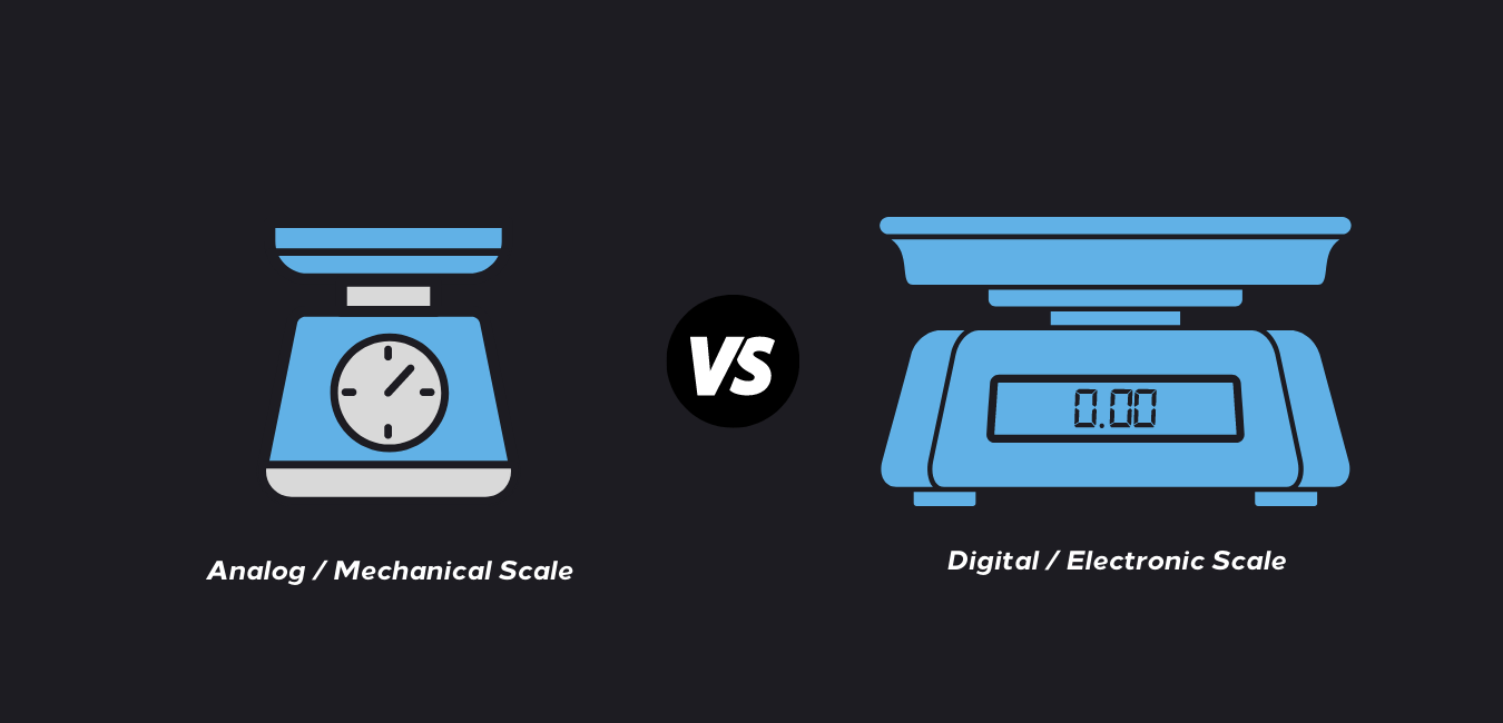 mechanical scale vs electronic scale