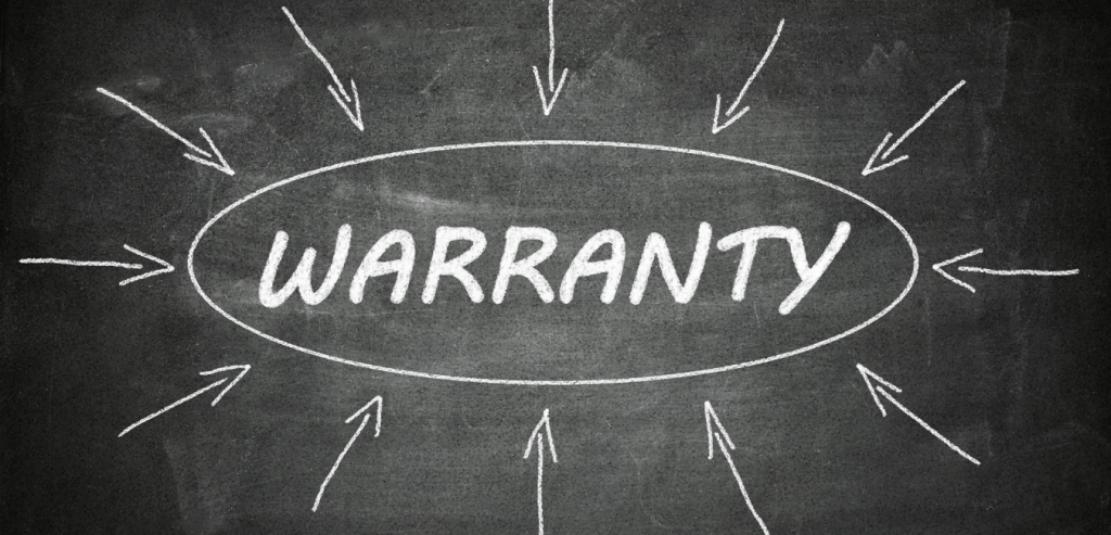 Weighing scale warranty