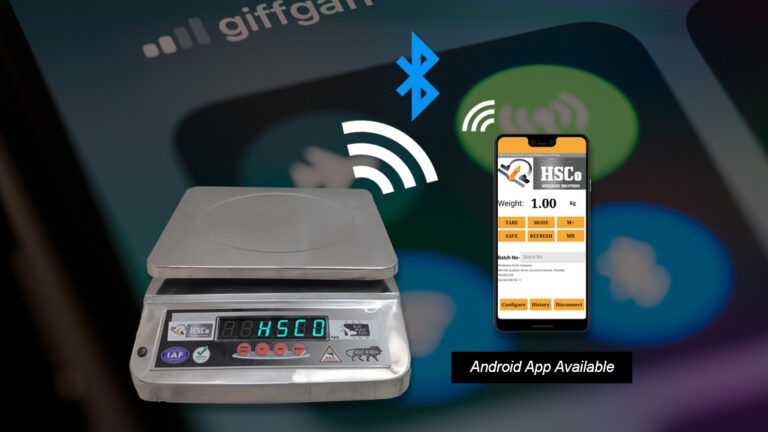 How to Connect Weighing Scale with Android Bluetooth App?